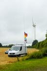 Antennen auf dem Feld